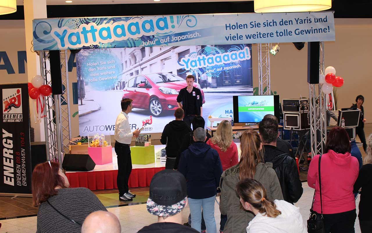Hansa Carre Gewinnspiel Event Autoverlosung