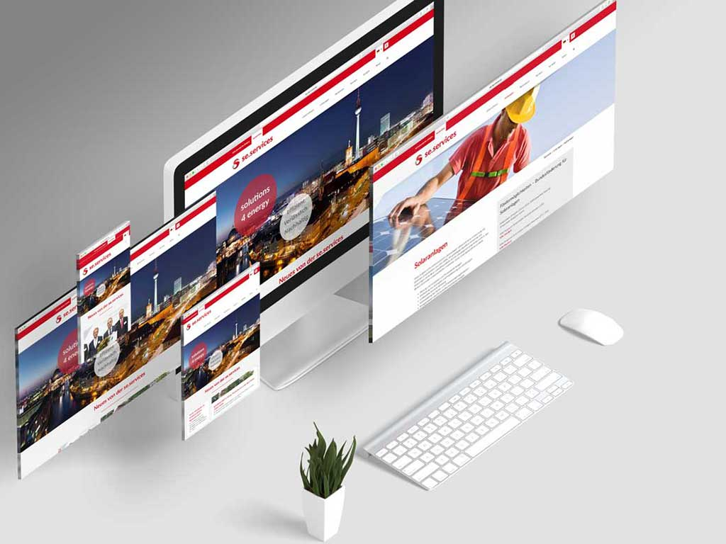 se.services responsive Webdesign