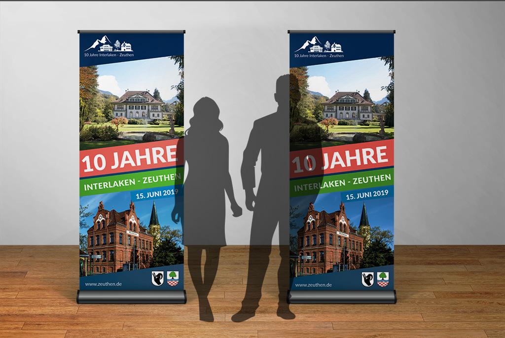 Zeuthen Roll-up 10 Jahre Zeuthen Interlaken